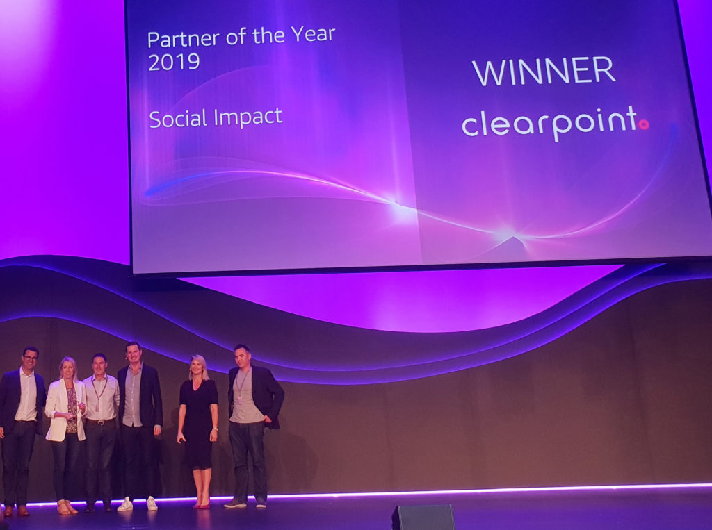 ClearPoint wins AWS Award